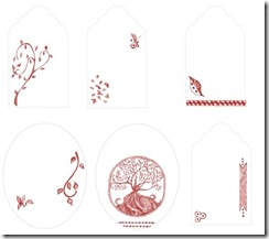 Free Printable Tree Stationary Set