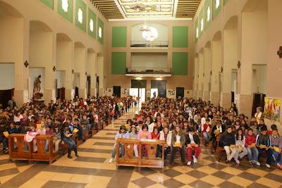 Encuentro Arciprestal de niños de Primera Comunión