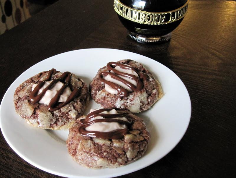 chambord mascarpone cookies