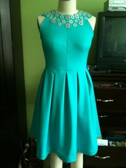turqouise dress 2