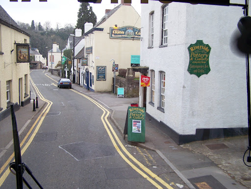 Chepstow, a town in Wales, which is another country that isn`t the USA
