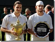 Federer (left) Roddick (right) - 2004 Wimbledon