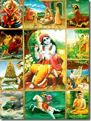 Krishna and His avatars