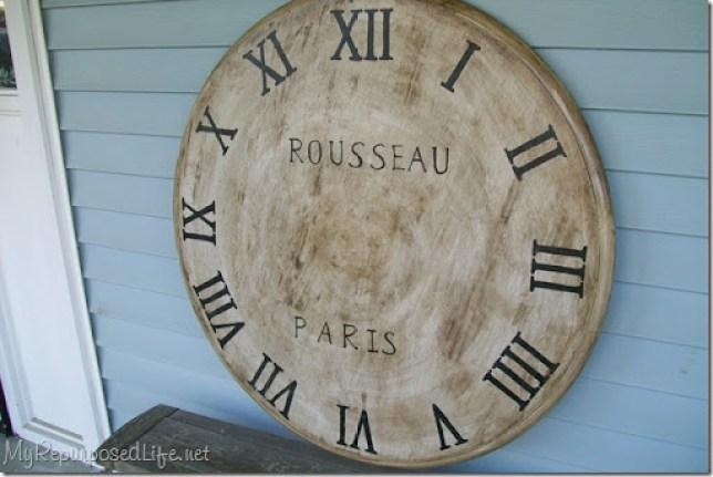 100_ faux clock 7231