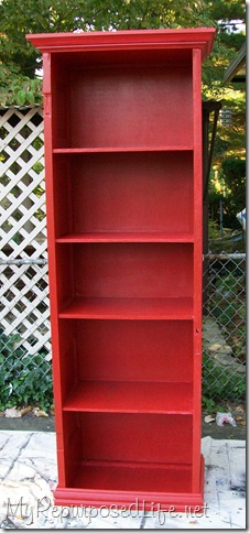 pottery barn inspired book shelf