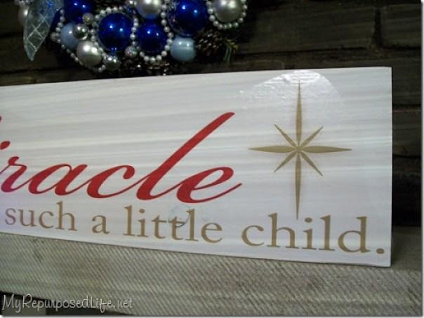 Christmas vinyl sign 2