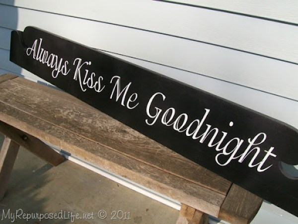 always kiss me goodnight for master bedroom