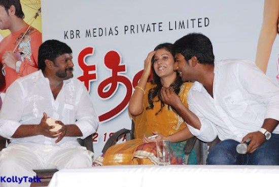 Shanthanu ,Shanthini and Kanja Karuppu at Siddhu Plus 2 Press Meet