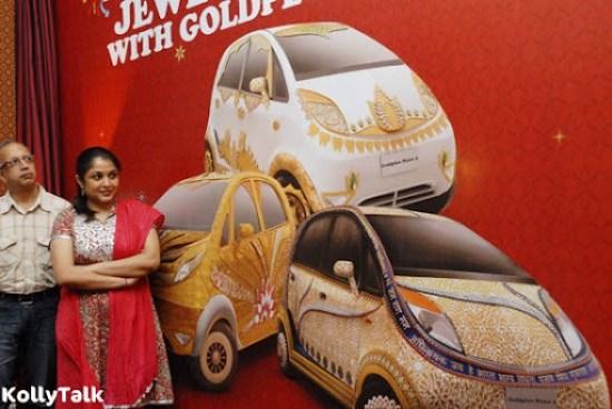 Ramya Krishnan is looking at Gold Plus Nano Car designs