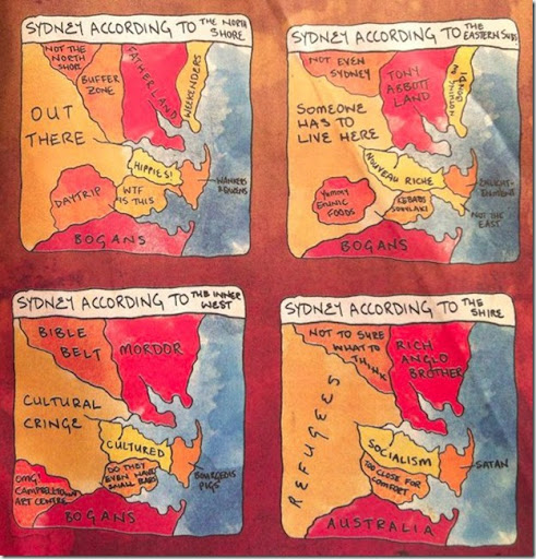 Ethnic Map of Sydney