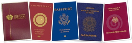 Exibir Passaporte