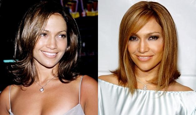 Jennifer Lopez's Hairstyles photos