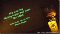 Chetan Bhagat MBA