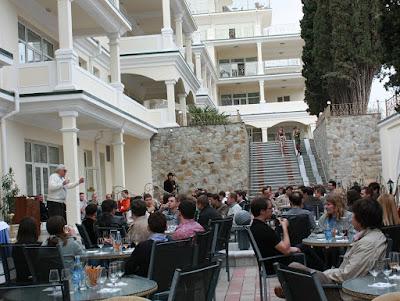 Дегустация Крымских вин на конференции ISDEF Spring 2010