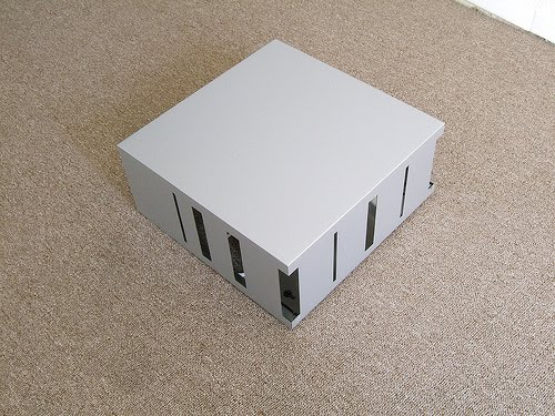 lampara cubo para paredes