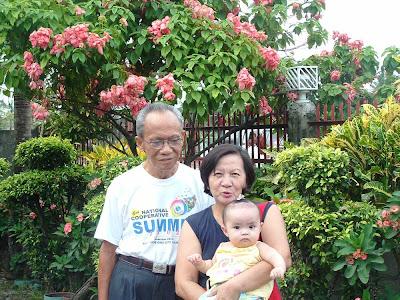 mama, papa and dj