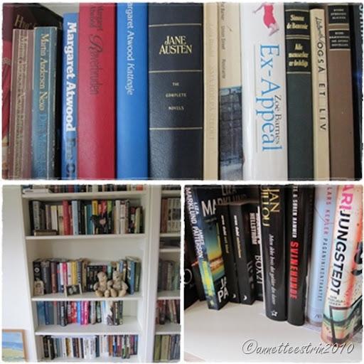 bøger collage