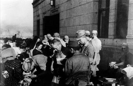 HIROSHIMA ATOMIC BOMB 1945
