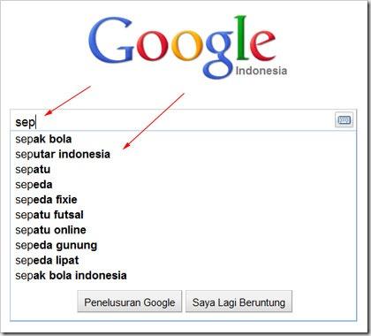 google-suggestion