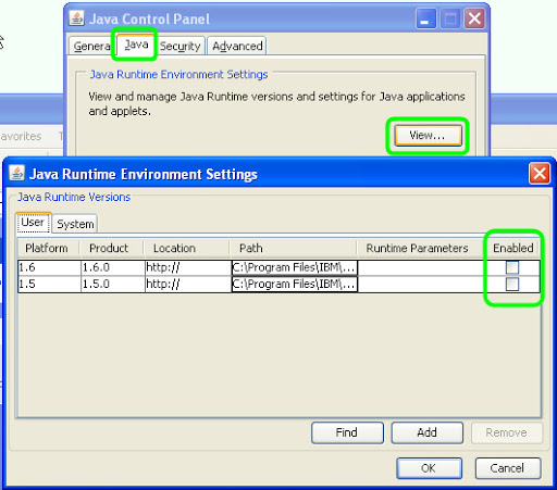 System Files JNLP File Extension