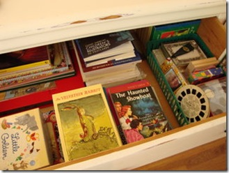 books drawer
