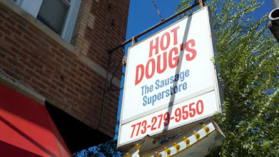 Hot Doug's sign