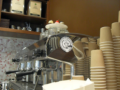 The little cupcakes espresso machine