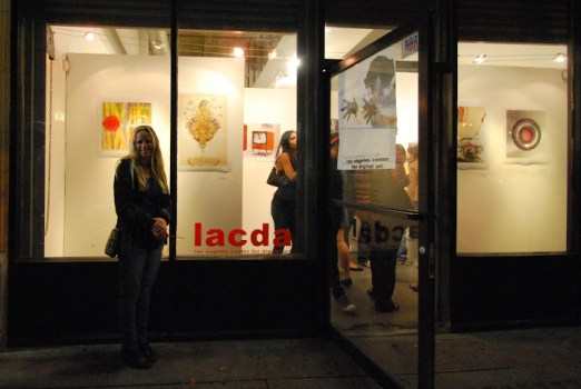 LA Center for Digital Art opening and Downtown Los Angeles Art Walk
