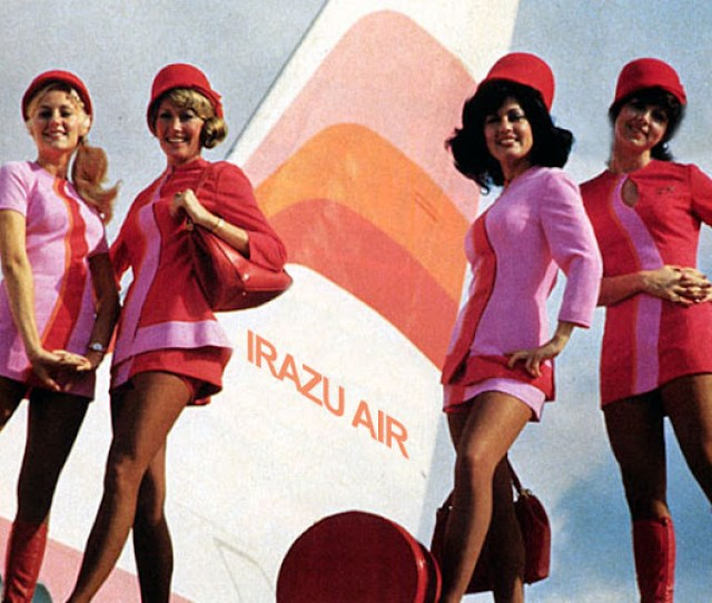 There Was Something In The Air In The Early Years Of Commercial Aviation Perhaps More Excitement Perhaps More Glamorous Stewardesses In Any Case