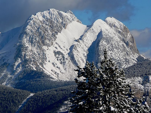La montaña de la mina. (Foto de la red)