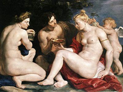 Peter Paul Rubens: Ceres, Venus, Cupido y Baco (1612/1613)