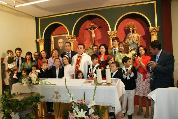 Primeras Comuniones del Sábado 25 de abril de 2009 a las 13:00 h