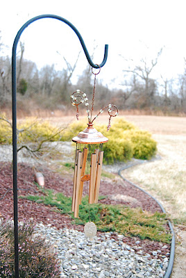 Wind chimes in my front yard