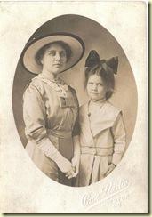 meribel and fern 1913