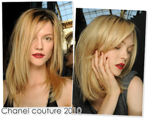 Blonde ambition: couture looks