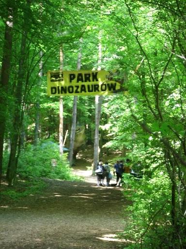 Park dinozaurów w oliwskim zoo