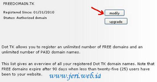 List Domain dot Tk