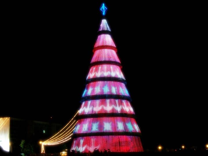 Árvore Eletrônica na Esplanada dos Ministérios