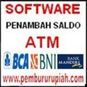 software penambah saldo ATM