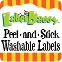 label daddy peel and stick washable labels
