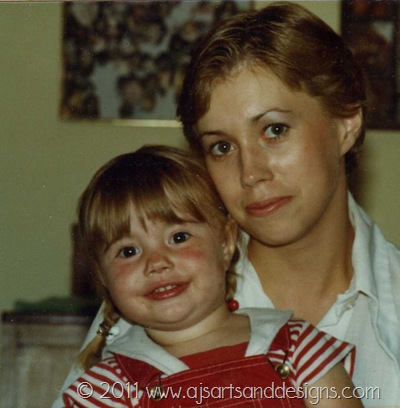 Mom and I 1981 Picture 1