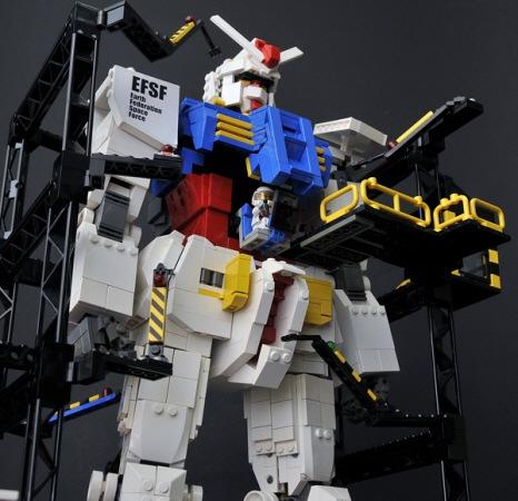 Gundam Lego Piloto 2