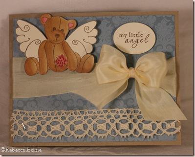 vintage angel bear