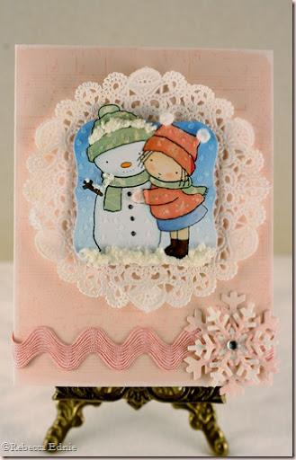 pink snowflake PI