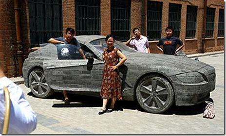 BMW-Z4-Cement-Car
