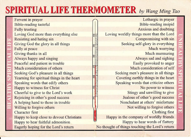 Spiritual Thermometer by Wang Ming Tao