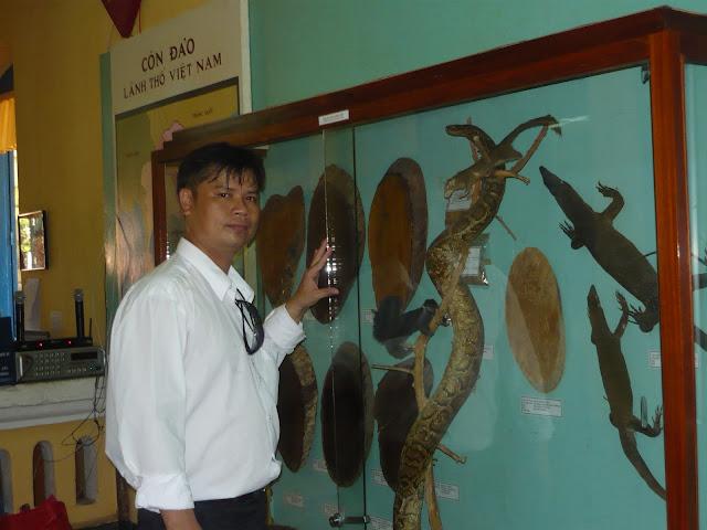 Thăm bảo tàng Côn Đảo