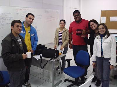 equipe de programadores da Canção Nova