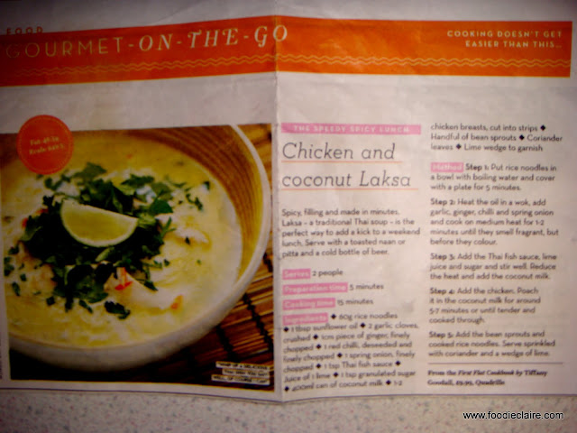 Chicken and Coconut Laksa