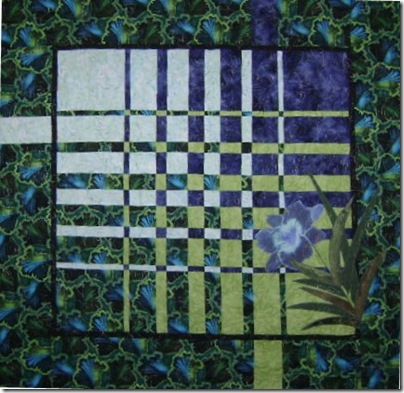 Blue Lily Quilted